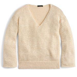 J. Crew Flare Sleeve Swing Sweater